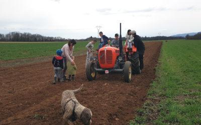 Prochaine visite de la ferme le 24 avril !